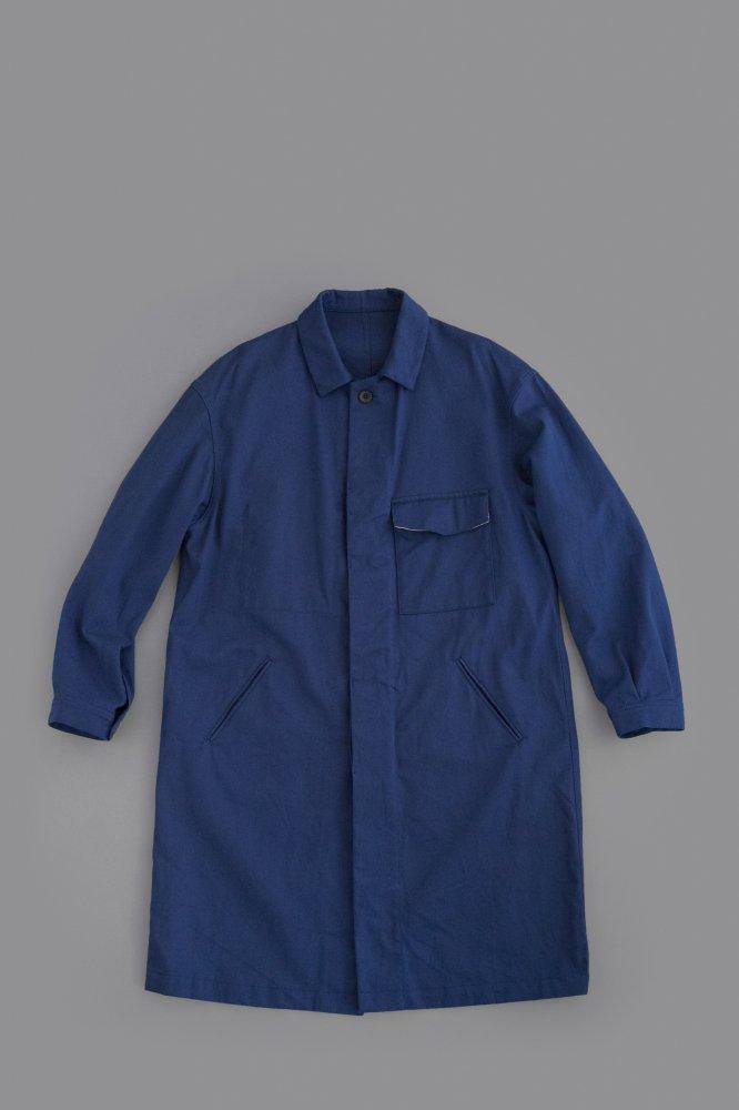 ゴーシュ ♀カツラギ ステンカラーコート (ブルー)