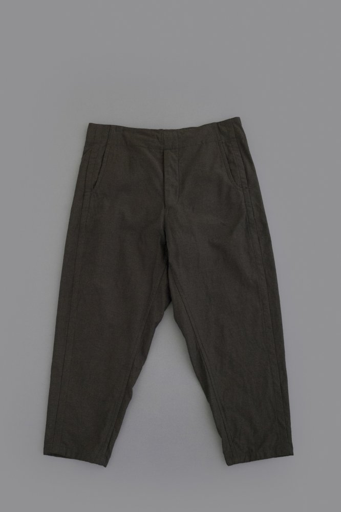 STYLE CRAFT WARDROBE PANTS #6 (BROWN TWILL)