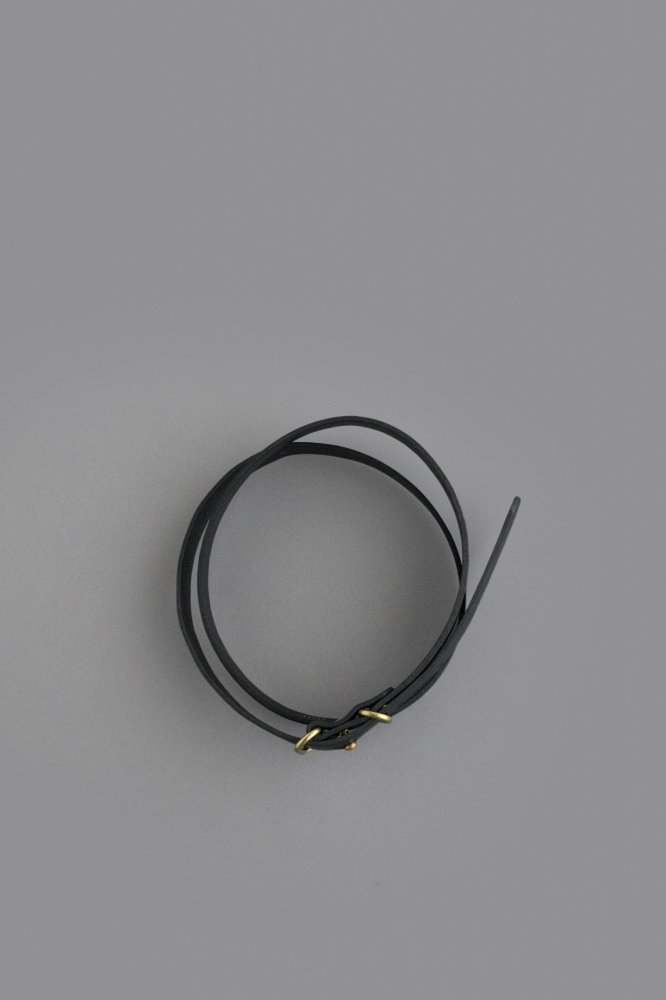STYLE CRAFT small goods Narrow Belt (Ink Black)