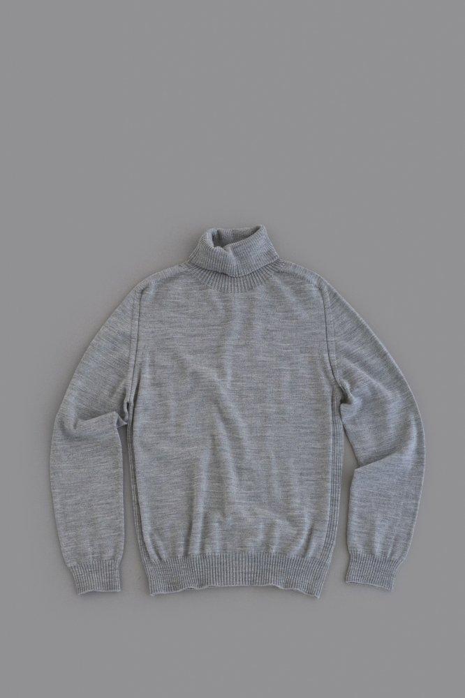 HARRISS Wool Turtleneck (Grey)