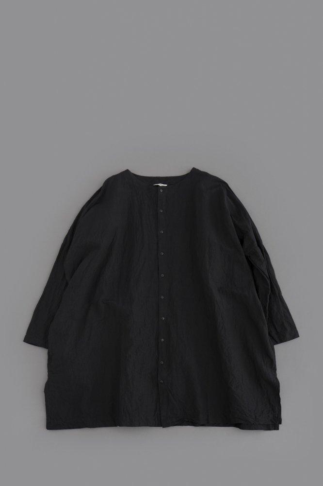 jujudhau ♀ RECTANGLE TUNIC (L/C BLACK)