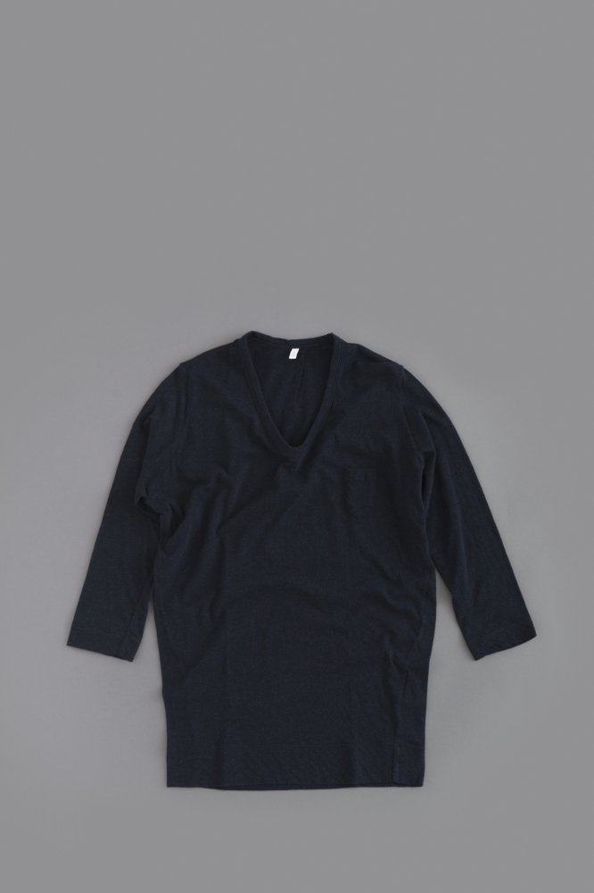 FIRMUM ♀ 1P U-Neck 7/10 Sleeve (Midnight)