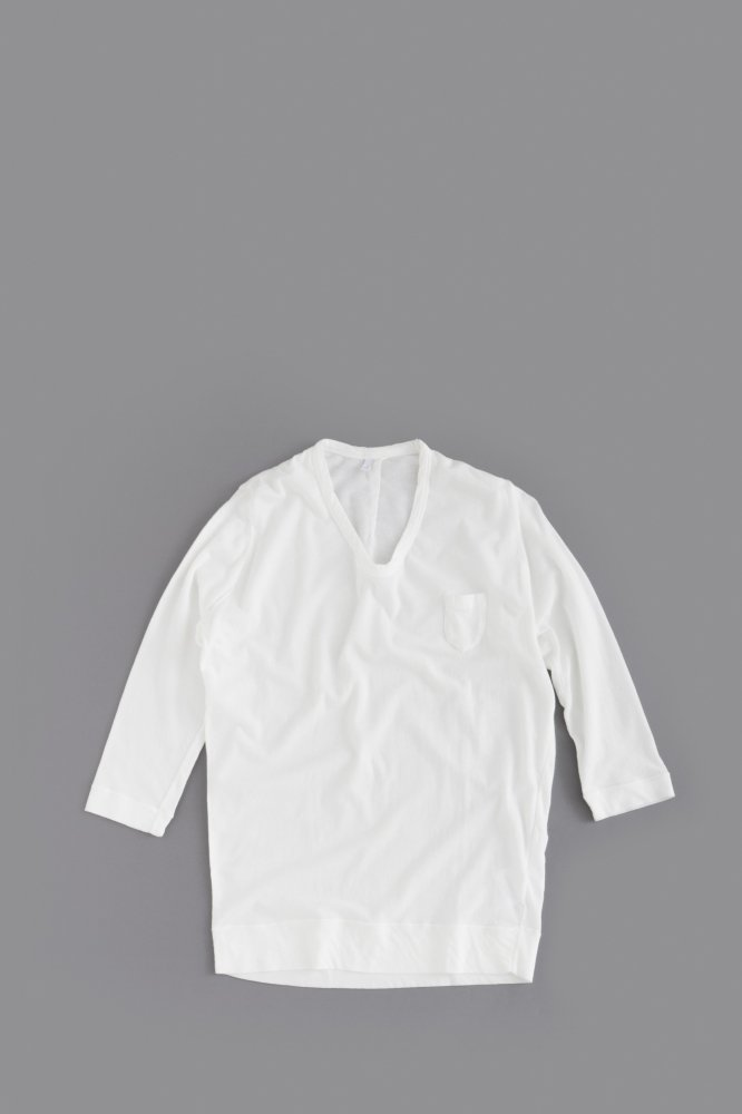 FIRMUM ♀ 1P U-Neck 7/10 Sleeve (White)