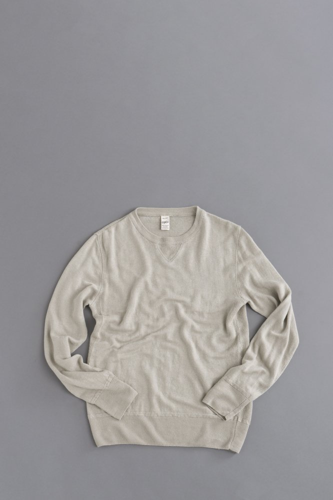 G.R.P. Knitwear Factory Crew Neck Vintage (Nature)