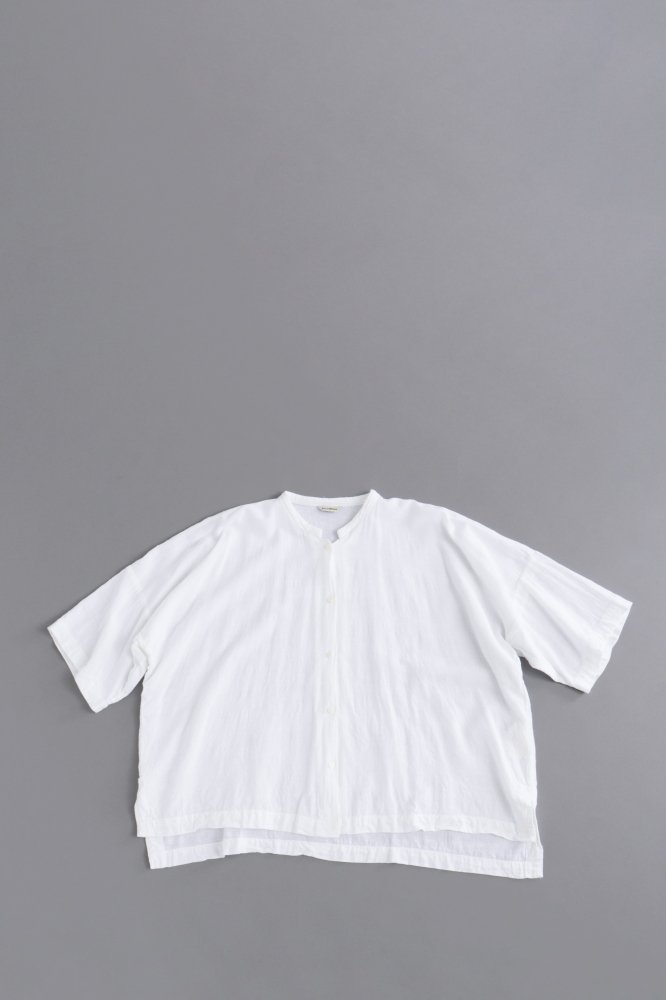 jujudhau ♀ BOX SHIRTS (RAYON WHITE)