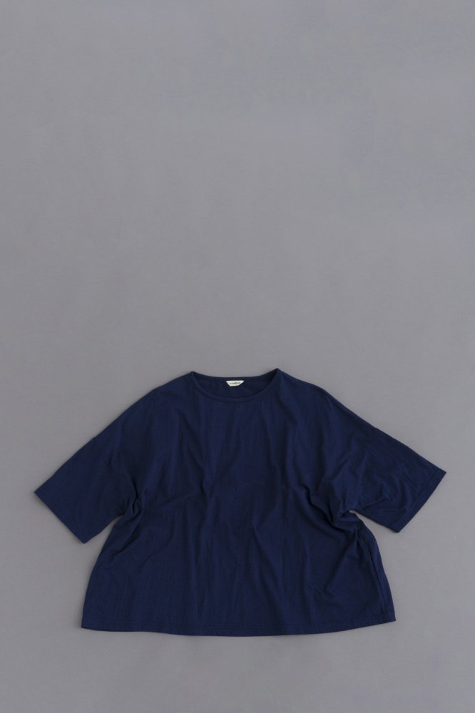 jujudhau ♀WIDE-T (COTTON NAVY)