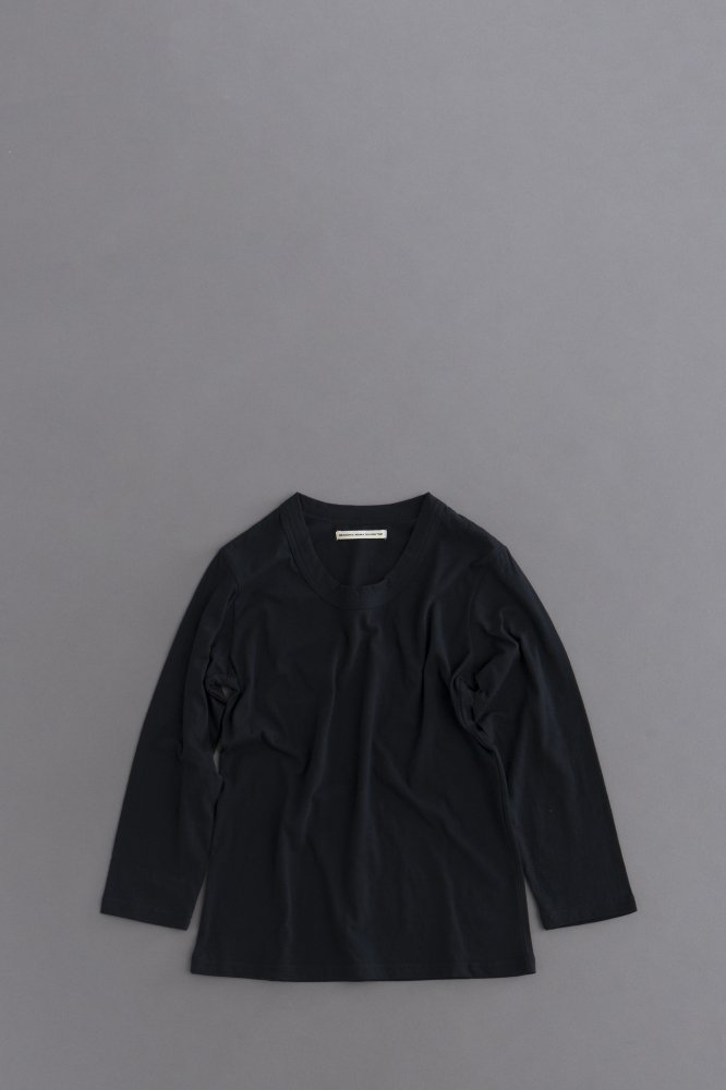 GRANDMA MAMA DAUGHTER ♀Crew Neck 7/10 Sleeve (Black)