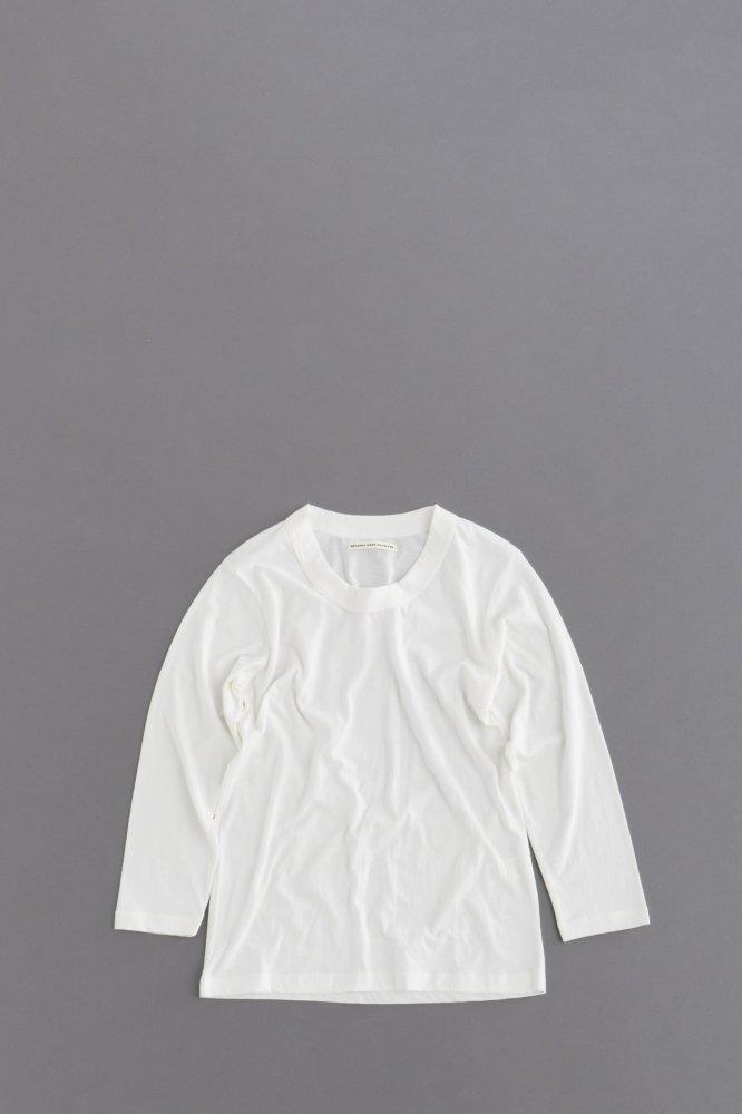 GRANDMA MAMA DAUGHTER ♀Crew Neck 7/10 Sleeve (White)