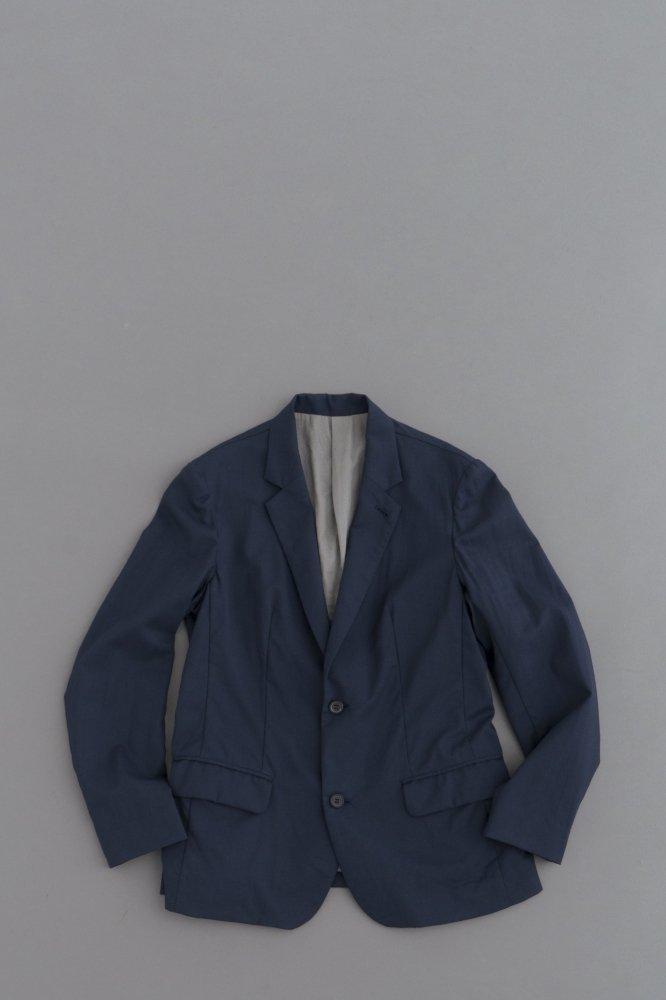 ゴーシュ ♀ ウールトロピカル 2Bジャケット(グレイッシュネイビー)