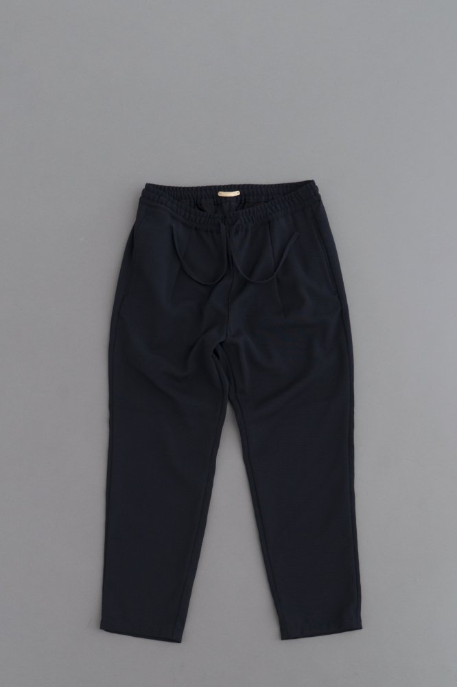 LAMOND KASHIDOSU WOOL TAPERED PANTS (D.Navy)
