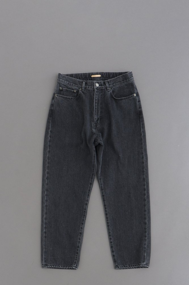 LAMOND SERUBITCH TAPERED DENIM (Black Bio Wash)