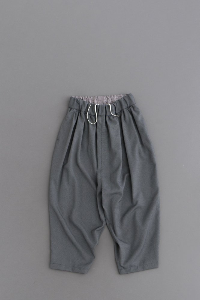 NO CONTROL AIR Pin Head Twill 8/10 Wide Pants (Light Grey & Black)