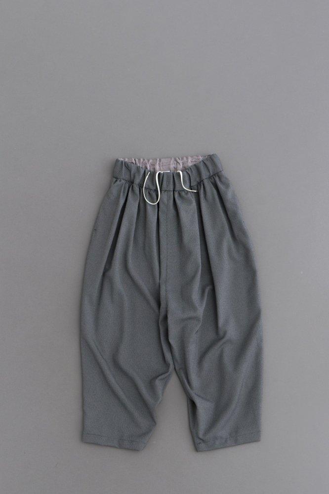 NO CONTROL AIR Pin Head Twill 8/10 Wide Pants (Light Grey & Black)