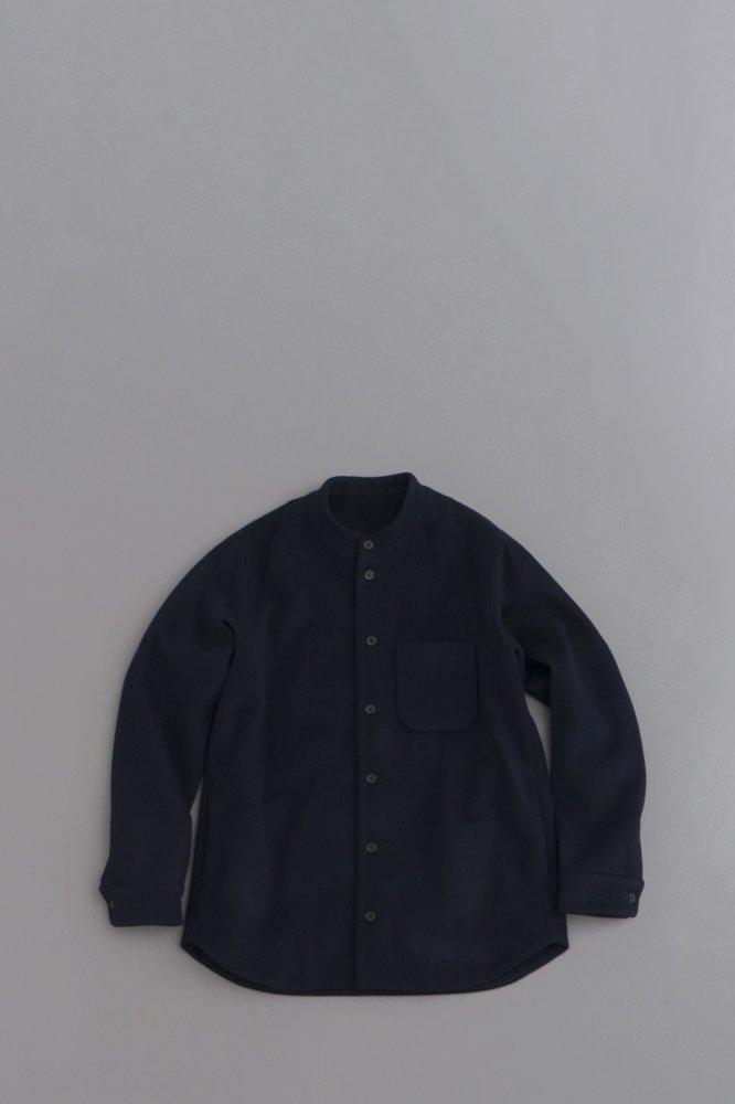 ゴーシュ ♀ スーパー100'sビーバー シャツジャケット (ネイビー)
