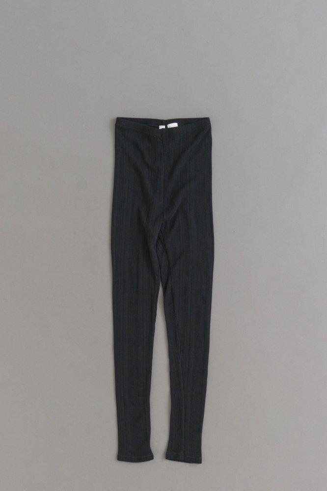prit ♀ Random Rib Leggings (Black)