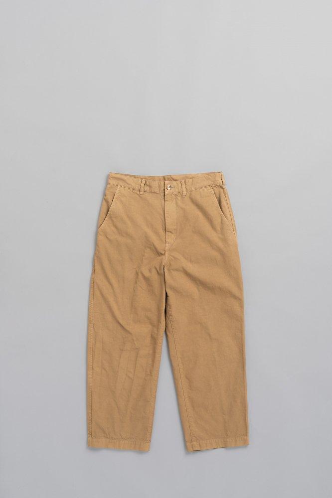 COMME des GARCONS HOMME Nylon OX Garment Dye Pants(Beige)
