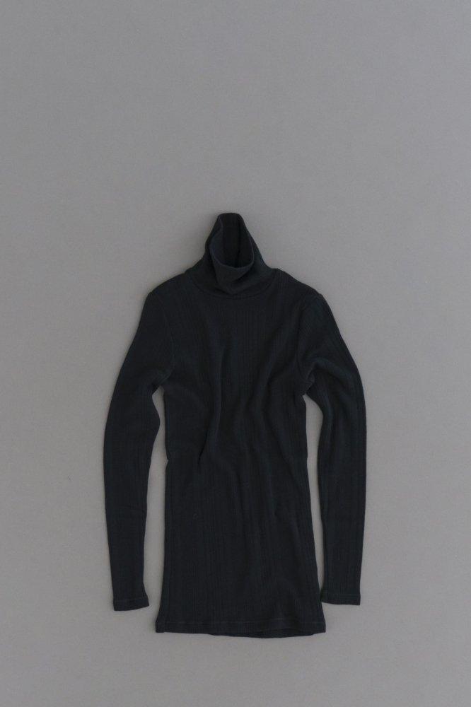 prit ♀ Random Rib Turtle Neck Pullover (Black)