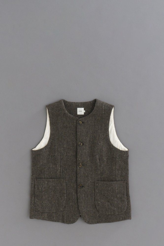 RINEN 1/6 Tweed Herringbone Vest