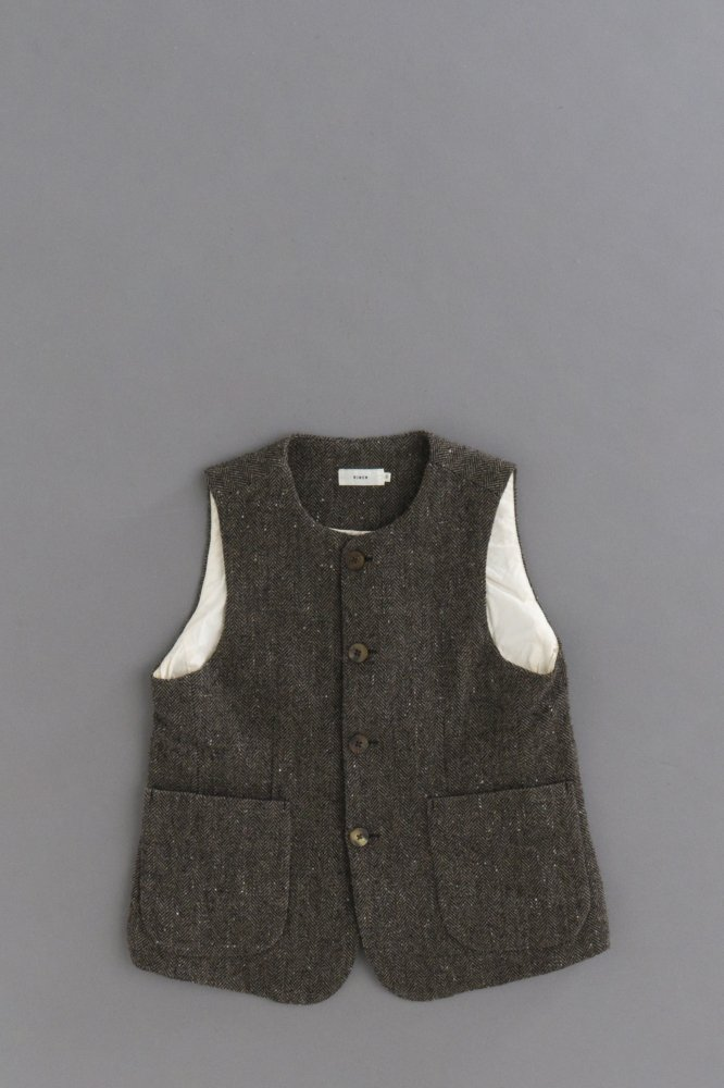 RINEN ♀ 1/6 Tweed Herringbone Vest