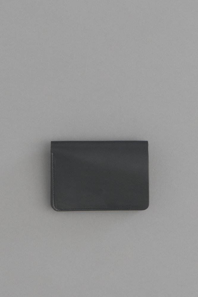 forme Short Wallet (Baby Calf Black)