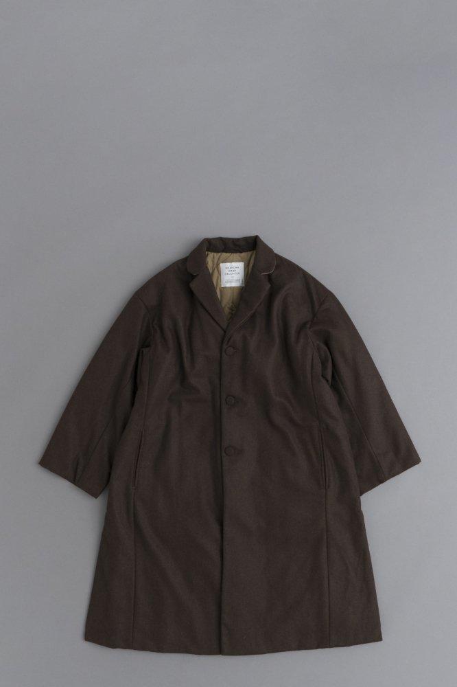 GRANDMA MAMA DAUGHTER ♀Side Slit Chester Coat (Brown)