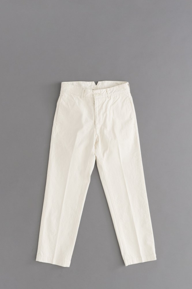 Ordinary fits Yard Trousers (Ecr)