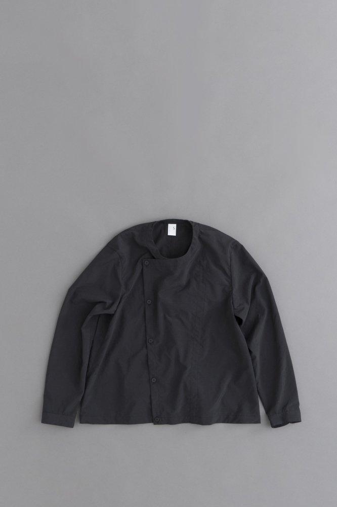 NO CONTROL AIR ポリエステルリンクルタフタ シャツジャケット