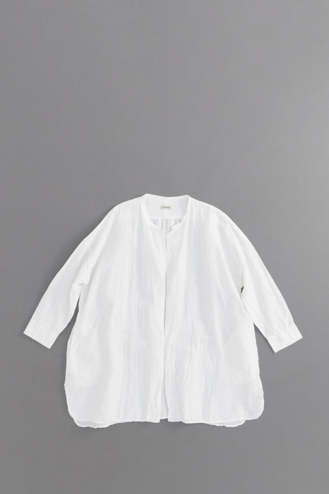 jujudhau ♀ SHIRTS JACKET (L/C WHITE)