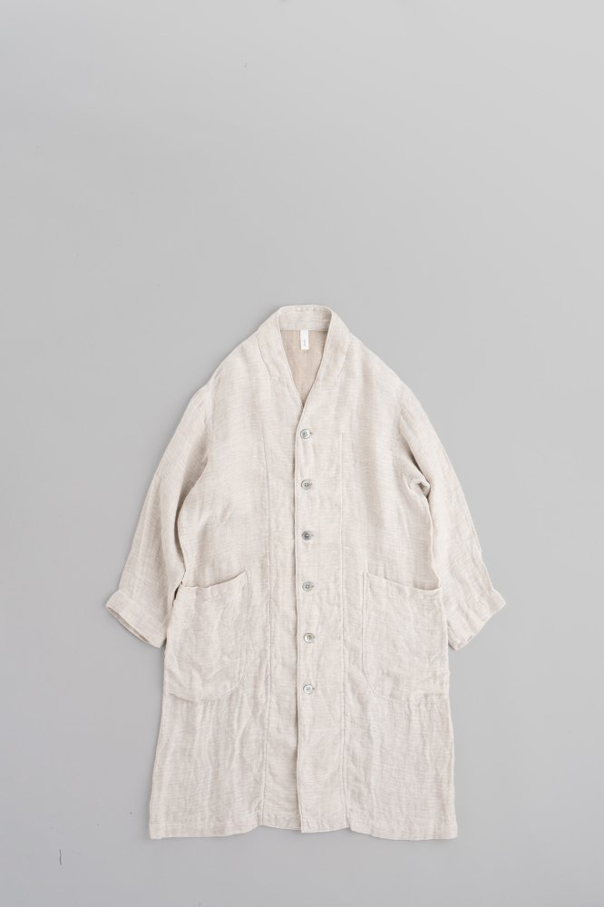 prit ♀Linen No Color Shop Coat