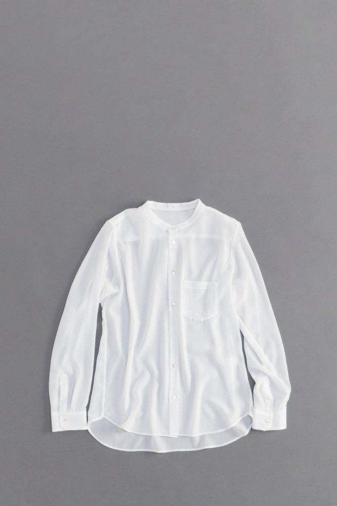 ゴーシュ ♀ エステルクレープシャツ(ホワイト)