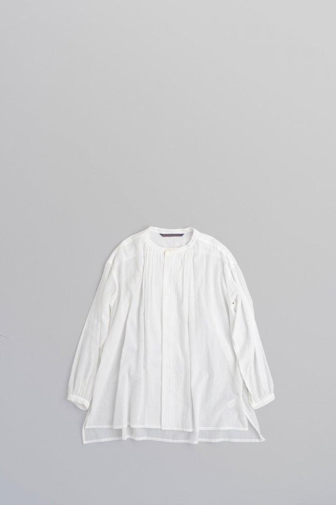 GRANDMA MAMA DAUGHTER ♀Gather Shirts (White)