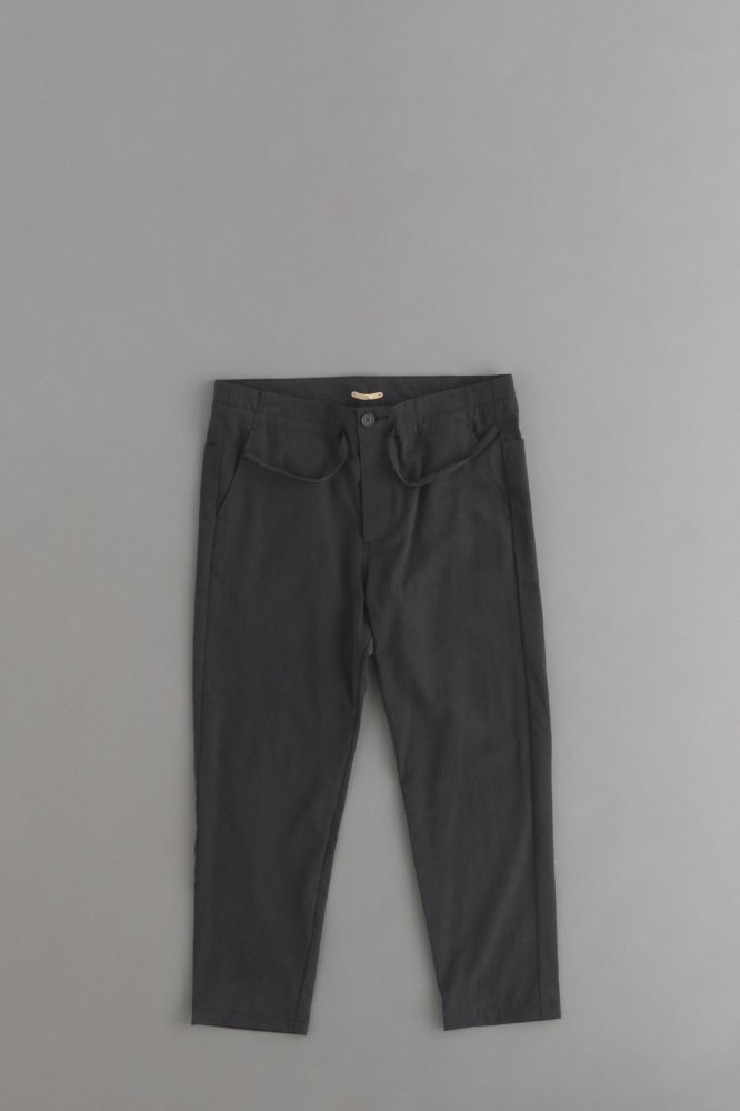 LA MOND FRENCH RELAX PANT (Sumi Black)