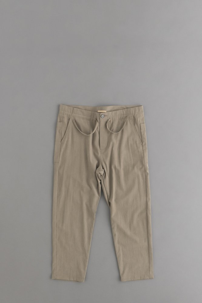 LA MOND FRENCH RELAX PANT (Smoky Beige)