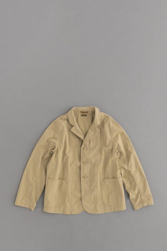 KAPITAL リップストップ ホスピタルジャケット (ベージュ)