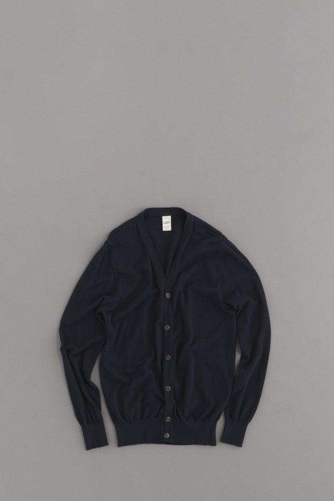 G.R.P. Knitwear Factory L/S Cardigan (Blue)