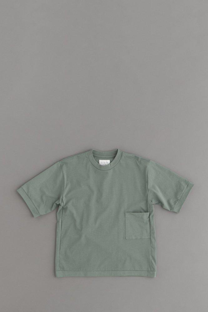 STILL BY HAND 1P Box T Shirt (Green)