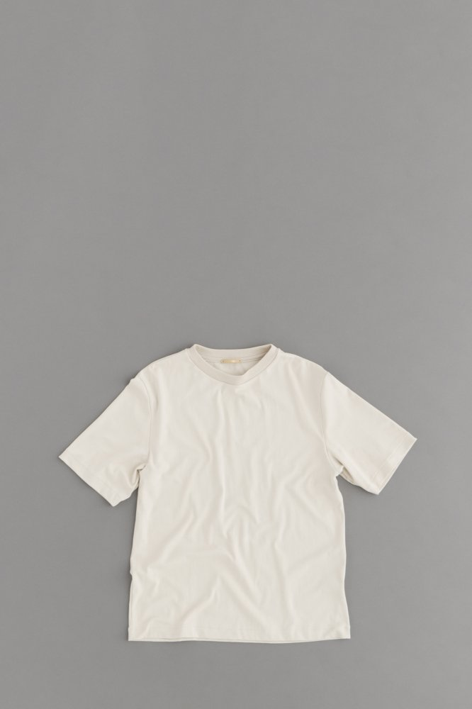 LA MOND SUVIN COTTON 5/10 T-Shirt (Beige Gray)