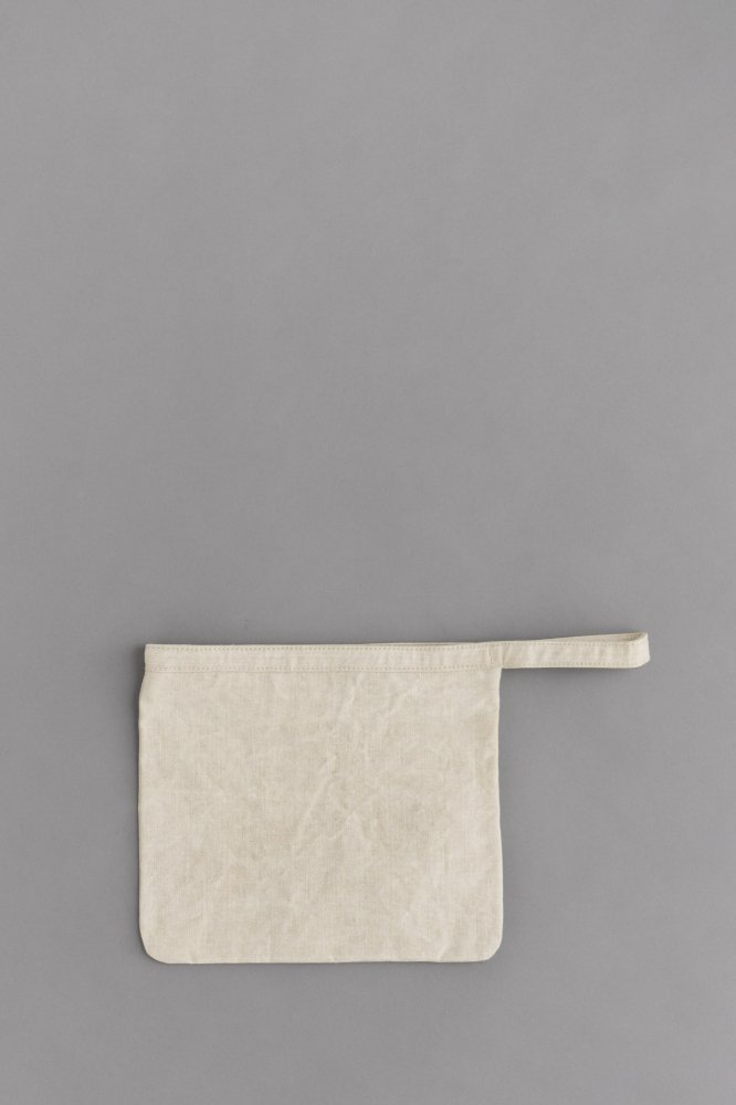STUFF Basic Pouch 2 (Wash Natural Linen)