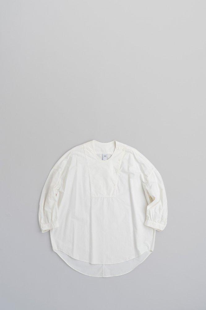 NO CONTROL AIR プルオーバー ビッグシャツ (オフホワイト)