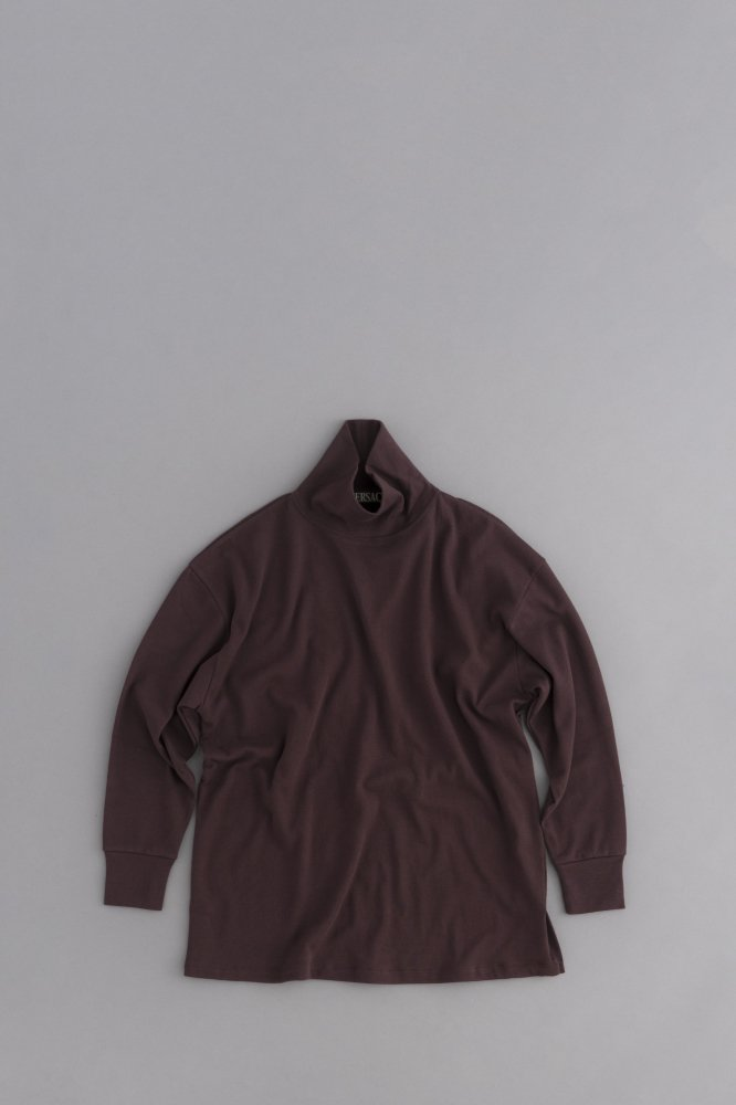 HAVERSACK High Neck Big Pullover (Brown)