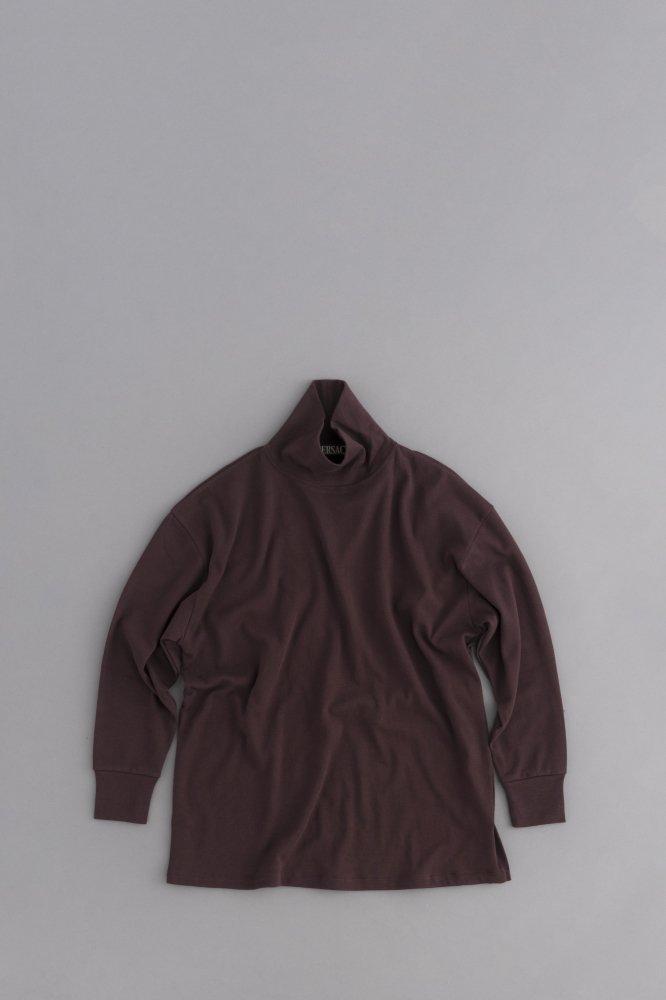 HAVERSACK High Neck Big Pullover (Brown)