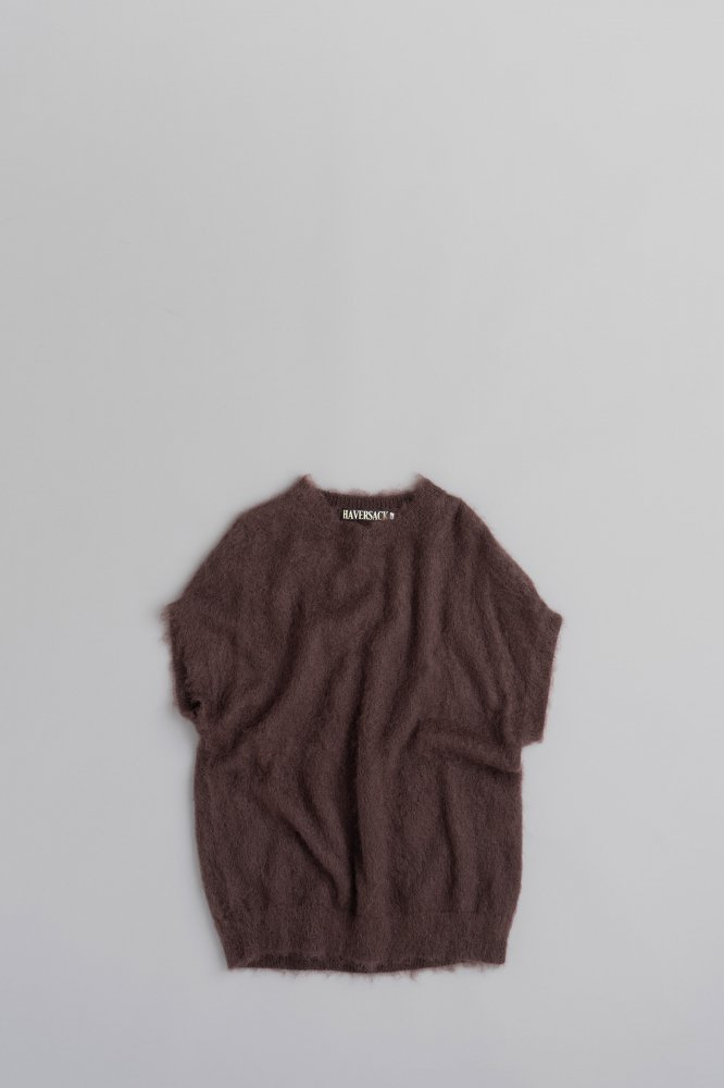 HAVERSACK Mohair Vest (Brown)