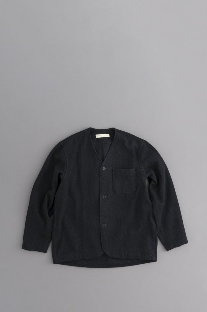 STYLE CRAFT WARDROBE V-SHIRCKET (WASH BLACK)