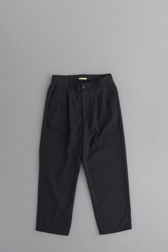 LA MOND KARSEY STRECH WIDE PANTS (Black)
