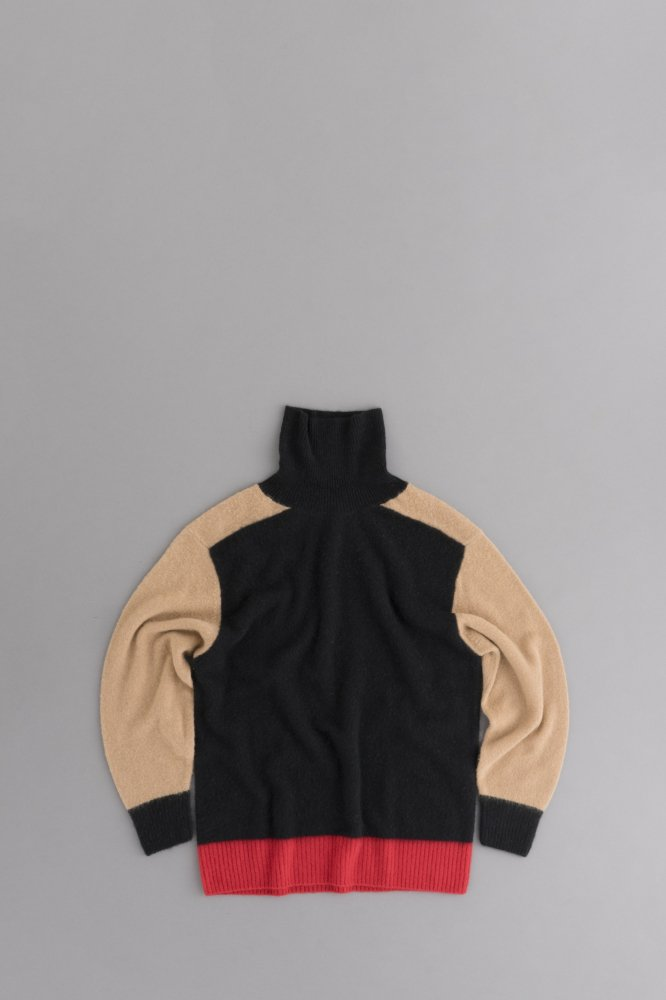 HAVERSACK Multicolor Cashmere Turtle Knit