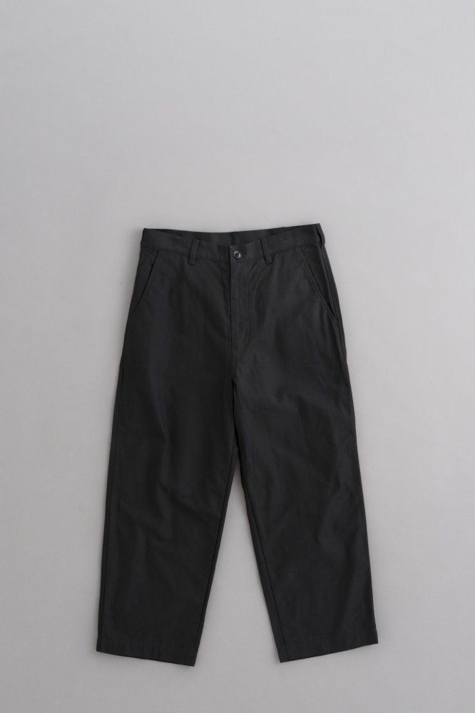 COMME des GARCONS HOMME Back Satin Wide Pants (Black)