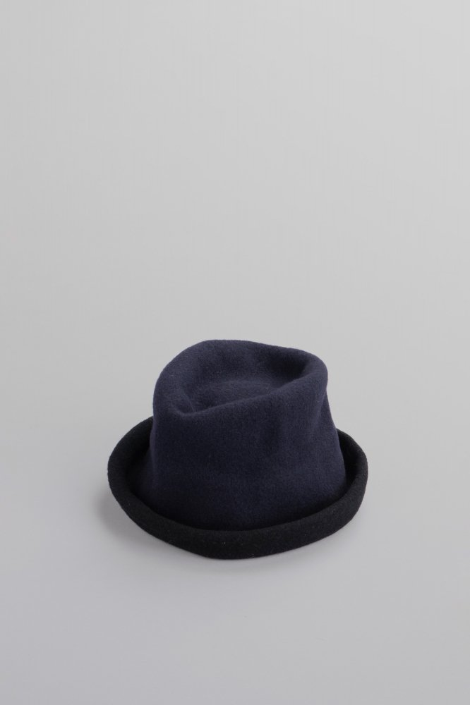 Kopka Clochard Bicolor Hat (Midnight blue & Black)