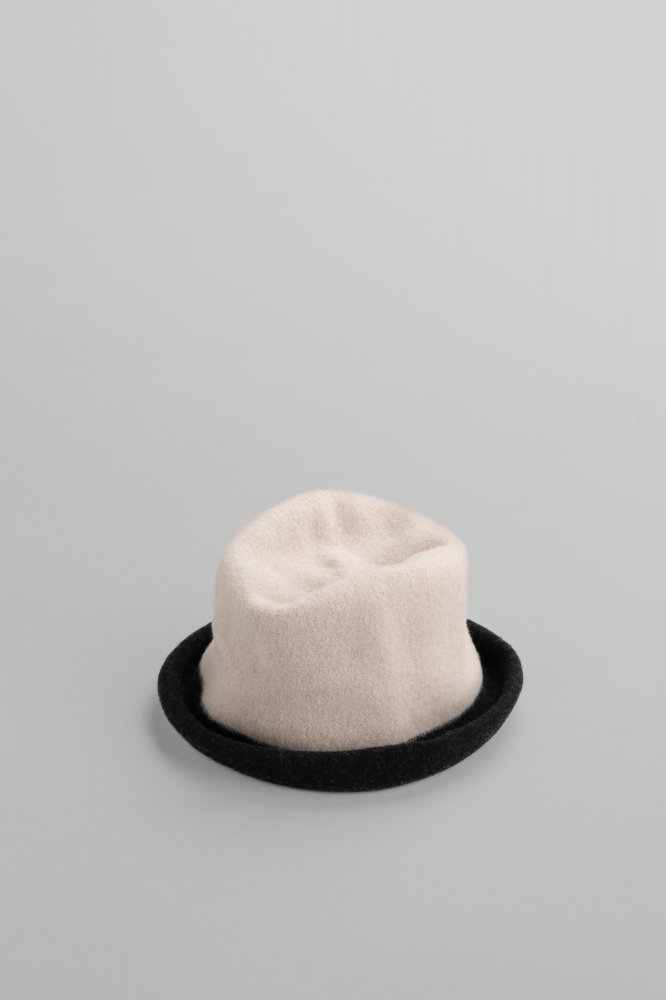 Kopka Clochard Bicolor Hat (Pebble & Black)
