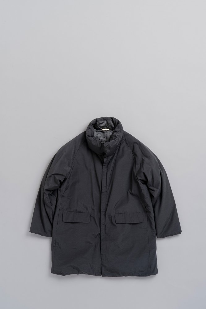 LA MOND N/C SHIBO STAND DOWN COAT (Black)