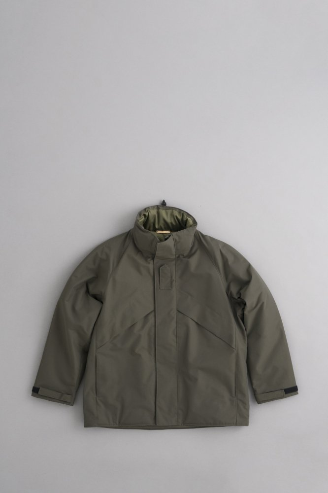 LA MOND STAND DOWN MILITARY JACKET (D Khaki)